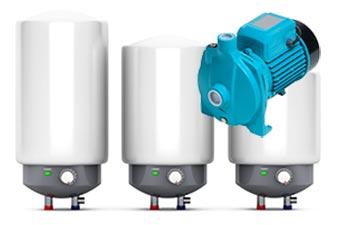 Water Heaters & Pumps